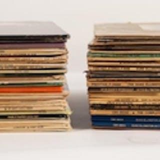 JAZZ, VINYL RECORDS- E IS FOR DUKE ELLINGTON & JOHN COLTRANE...