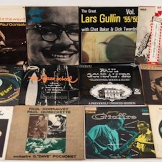 JAZZ, VINYL RECORDS-G IS LARS GULLIN- 55/56 WITH CHET BAKER ...