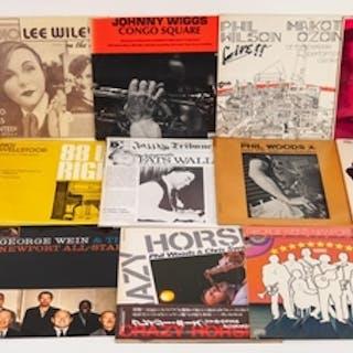 JAZZ, VINYL RECORDS-W IS FOR PHIL WOODS & CHRIS SWAN- CRAZY ...
