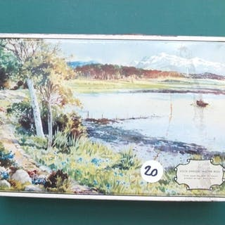 COINS: Loch Eweside tin with World coins