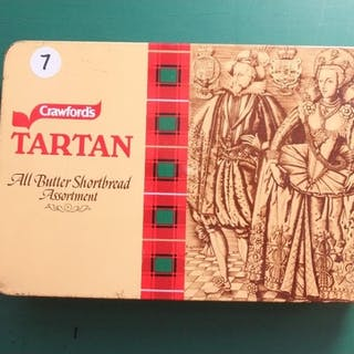 COINS : Tarten tin with mixed World coins