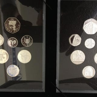 COINS : 2008 Silver Proof Royal Shields and Emblems of Brita...