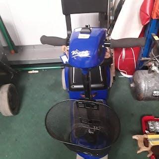 A Wispa 2 mobility scooter.