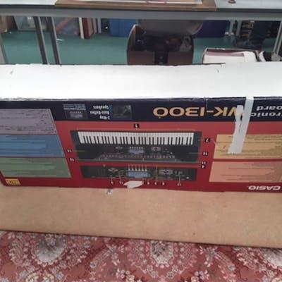 A Casio electric Keyboard.