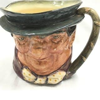 A Royal Doulton Toby jug.