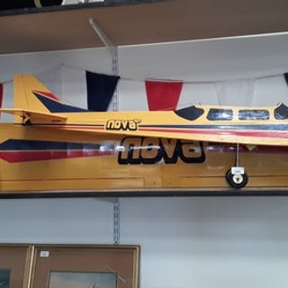 A Nova flying aircraft with all controllers. Box of anciller...