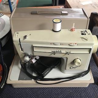 A Capri sewing machine.