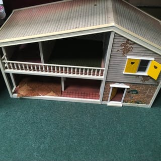 A doll's house without furniture.