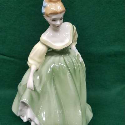 A Royal Doulton Figure 'Fair Lady' HN 2193. A Royal Doulton ...