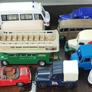 A quantity of Di Cast models.