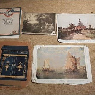 A quantity of Memorabilia along with items from The London S...