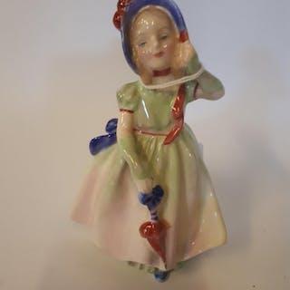 20th. C. Royal Doulton figurine Babie, HN 1679 { 12.0cm H }...