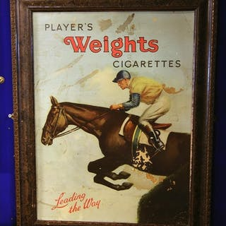 Players Weights Cigarettes- Leading the Way advertising show...