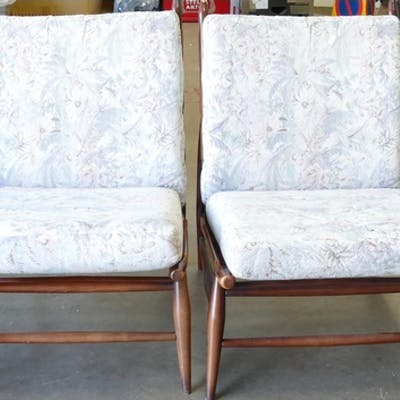 Ercol Furniture Unusual Ercol 427 Bedroom Chairs With Orign