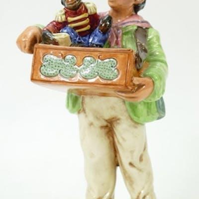 Royal Doulton Organ Grinder: Royal Doulton character figure ...
