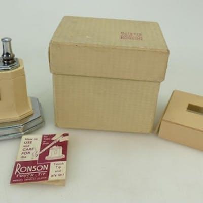 1930's Ronson Octette Touch Tip cigarette lighter: Ronson li...