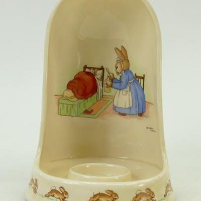 Royal Doulton Bunnykins Night Light holder: A rare Royal Dou...