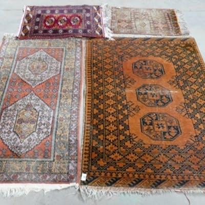 Afgan Hand Tied Rugs: largest 100 x 148cm(4)