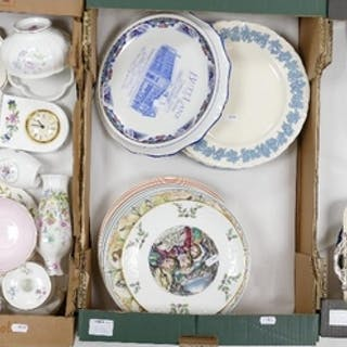 A mixed collection of items to include: Wedgwood Queens ware...