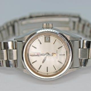 A ladies Rado Golden Horse stainless steel automatic wristwa...