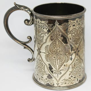 A Victorian silver tankard, William Hutton & Sons, London 18...
