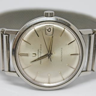 A 1960s Universal Polerouter Automatic 204604-1 stainless st...
