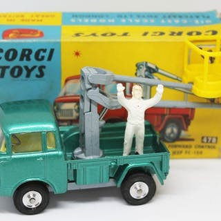 Corgi Toys 478 Hydraulic Tower Wagon Jeep FC-150.