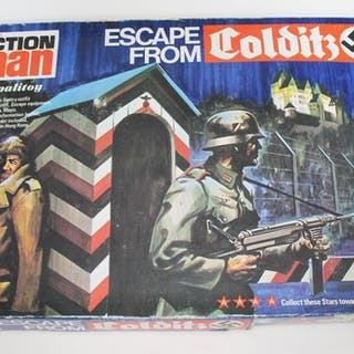 Action Man Escape From Colditz set.