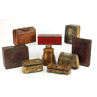 Vintage Advertising Tins Including A
