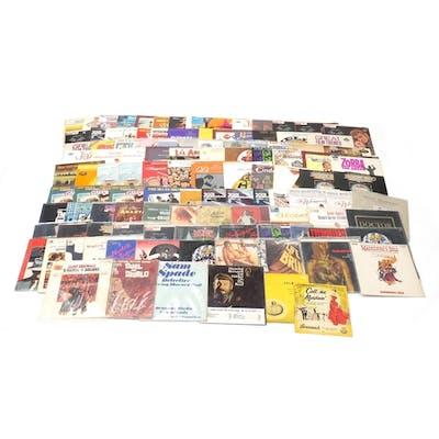 Soundtrack vinyl LP's including Neal Hefti, John Barry, and ...