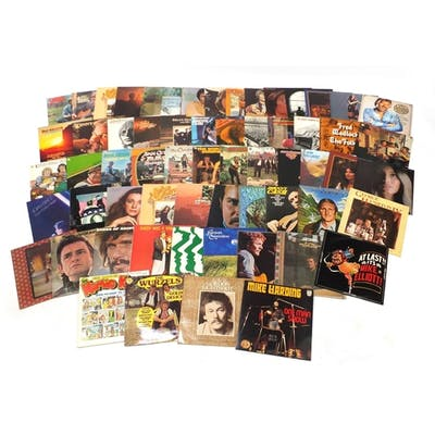 Vinyl LP's including John Denver, Johnny Cash, Mike Hardy, T...