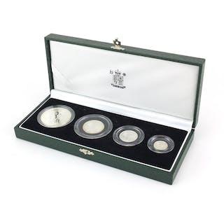 2001 United Kingdom Britannia silver proof collection