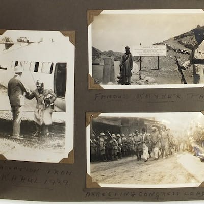 Mostly Military interest black and white photographs and cer...