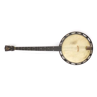 The Whirle banjo, impressed J. E. M Junior with carrying cas...