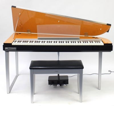 Yamaha Modus digital piano with stool, model HO1, 76cm H x 1...