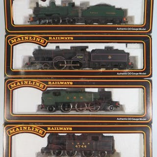 A Collection of OO-Gauge Mainline Railways including N2 Clas...