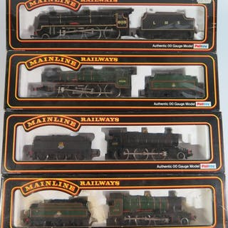 A Collection of OO-Gauge Mainline Railways including Class 4...