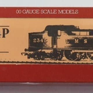 A OO-Gauge Hornby R088 LMS Class 4P 2-6-4T Loco, boxed and a...