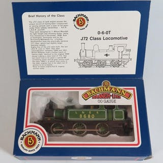 A Bachmann Branch-Line OO-Gauge 0-6-0T J72 Class Loco, boxed...