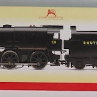 A OO-Gauge Hornby R2343 SR 0-6-0 Class Q1 Loco 'C8', boxed a...