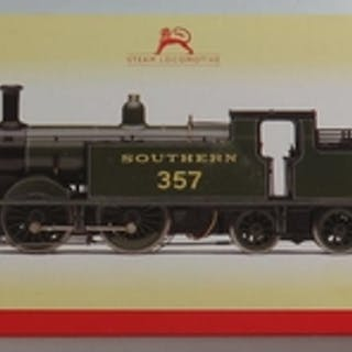 A OO-Gauge Hornby R2503 SR 0-4-4 Class M7 Loco '357', boxed ...