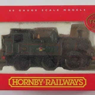 A OO-Gauge Hornby R2095A B.R. 0-4-0T Class xx Loco '1421, bo...