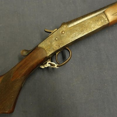 Spanish .410 single barrel top lever hammer shotgun with 28 ...