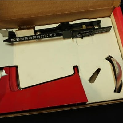 Boxed Lee Safety Powder Scale, as new