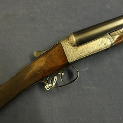 Jackson 12 bore side by side ejector shotgun with 28 inch re...