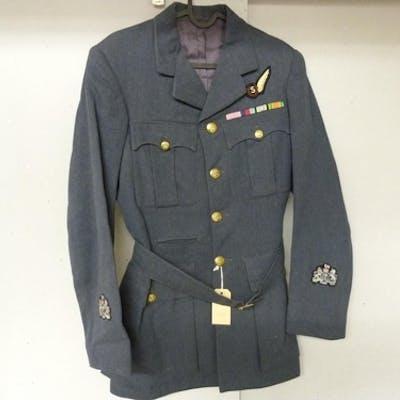 British Royal Air Force dress uniform blue jacket with Gerri