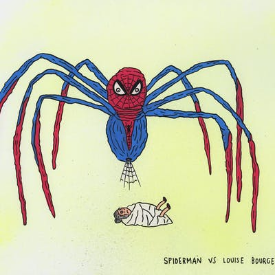 Laurina Paperina - Spiderman vs Louise Bourgeois - 2017