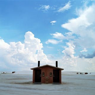 Samuel Hicks - Hut, White Sands, New Mexico - 2006