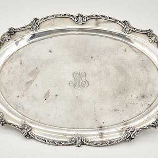 Gorham Sterling Silver Two-Handled Tray