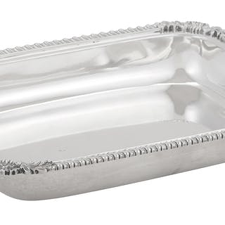 American Silver Open Entree Dish